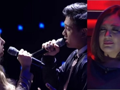 Sobrang galing! Coach Sharon's Heather and Jeremy earn praises from netizens for their hair-raising cover of 'Sana Maulit Muli'