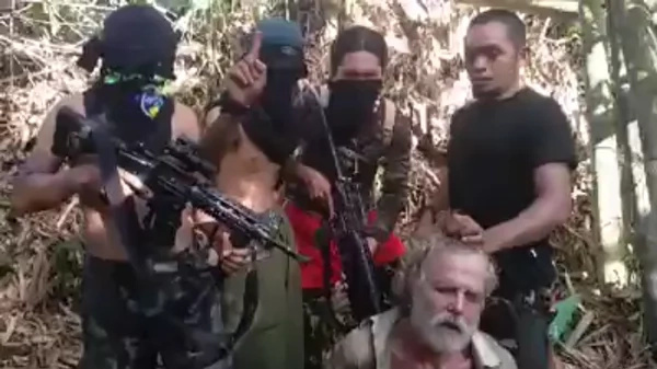 Duterte meets with freed Norwegian hostage of Abus