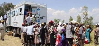 Hundreds Of Kisumu Residents Visit Margaret Kenyatta's Beyond Zero Clinic