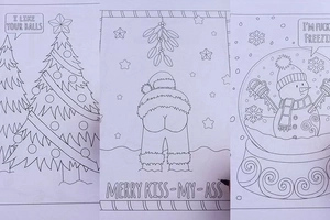 Foul-Mouthed Coloring-In Book May Ease Holiday Frustrations