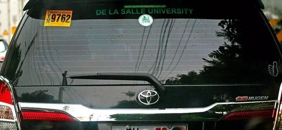 Vehicles with DU30 plates, beware!