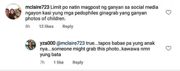 Ano ba daw klaseng nanay yan? Beauty Gonzalez cautioned for posting naked photo of her daughter