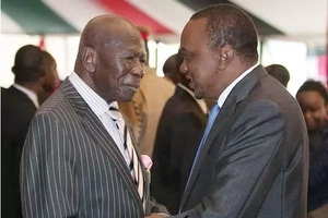 4 photos that reveal how age has caught up with former Vice President Moody Awori