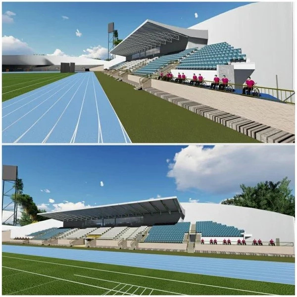 Uhuru reveals top notch state of the art stadium and TUKO.co.ke has all the photos
