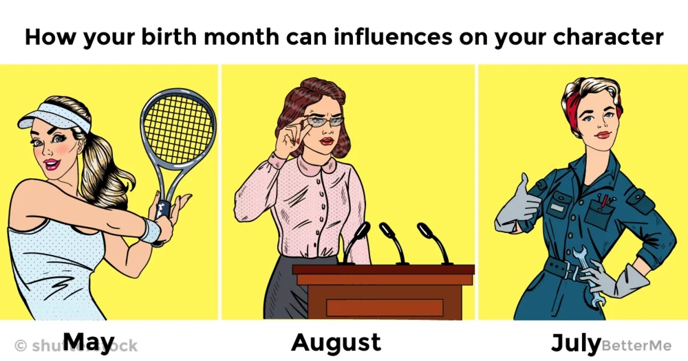 How your birth month can influences on your character
