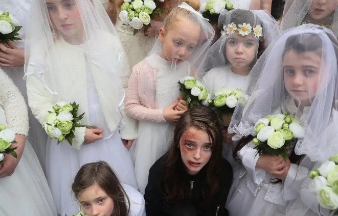 More than 100 girls show brutal reality of life for CHILD BRIDES worldwide (photos, video)