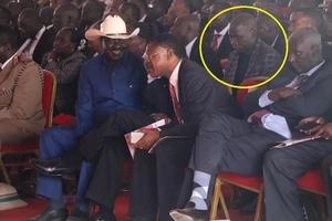 Meet the HIGHLY trained man behind Raila Odinga's security (photos)