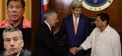 Hindi dapat pinapansin! Outgoing US ambassador to PH Goldberg snubs Duterte's latest gay slur