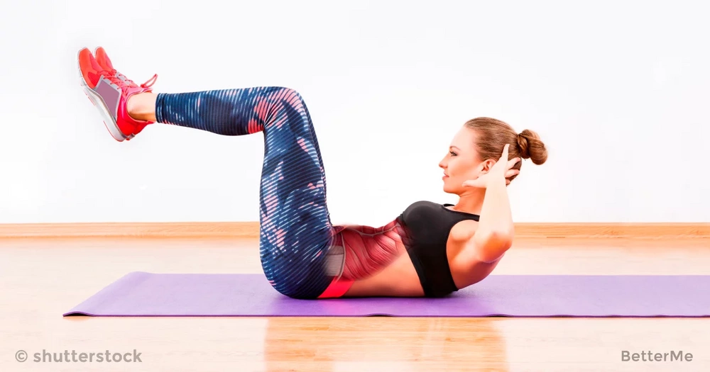 7 simple waist exercises for abs, back and buttocks