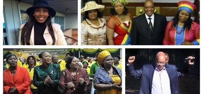 "All the ""king's"" women: Jacob Zuma and his many wives"