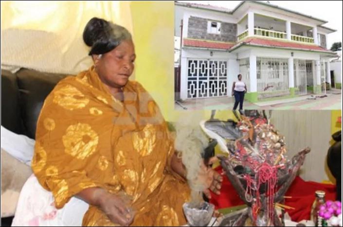 Inasemekana Anna Mutheu ndiye mganga tajiri zaidi nchini Kenya. Picha: SDE