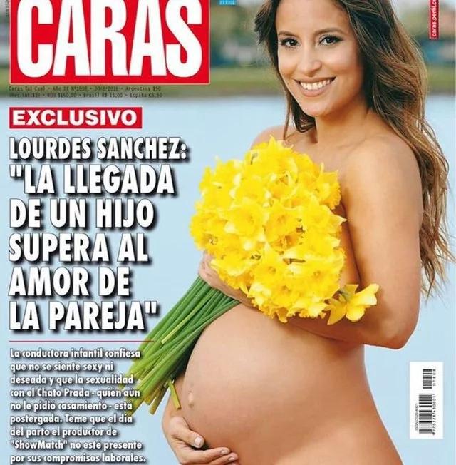 Polémica por supuesto desnudo de Lourdes Sánchez