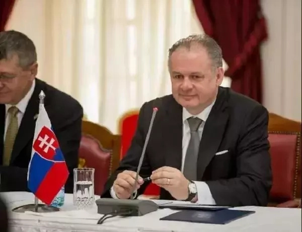 Rais wa Slovakia Andrej Kiska