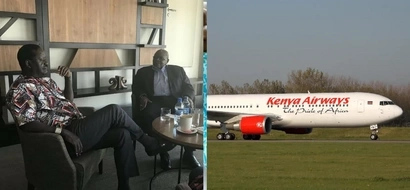 Raila leaves the country (photos)