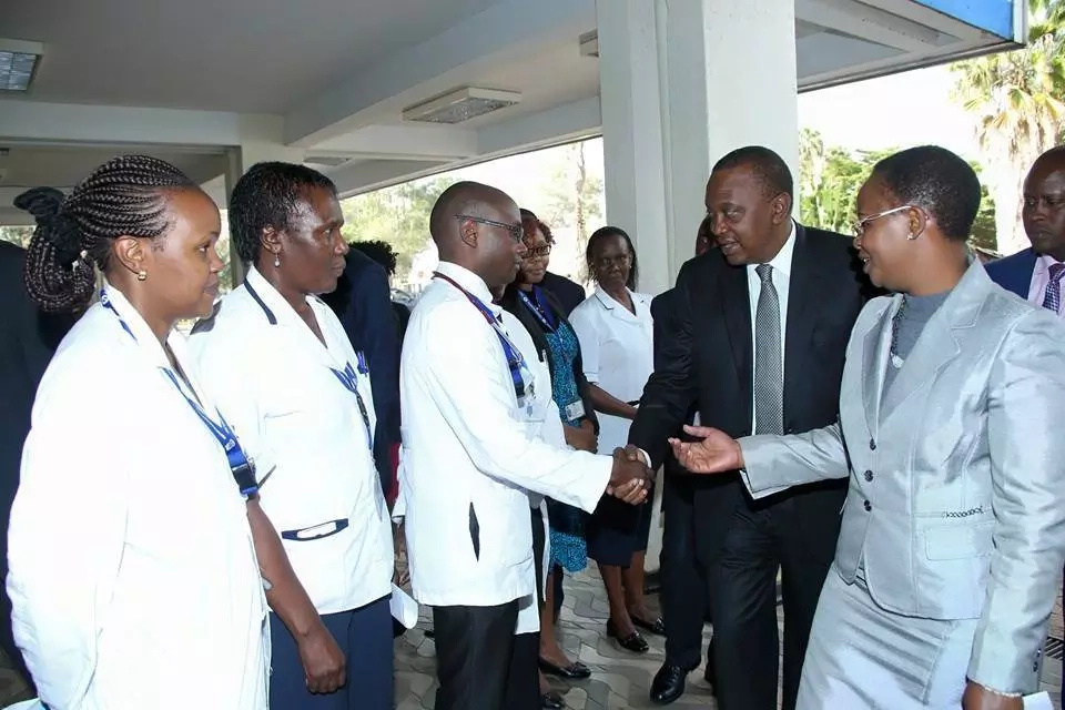 Martha Karua responds to claims that she told Uhuru to go work under a TREE
