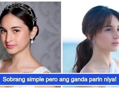 Halata ba? Coleen Garcia wears almost no make up on her wedding