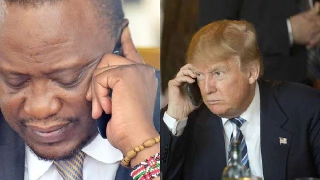 Just 2 days after talking to Uhuru, Trump deports Kenyans