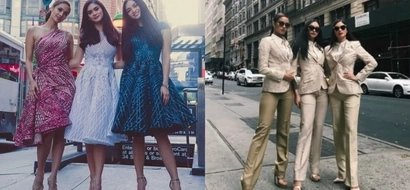 Squad goals! Pinay queens Pia Wurtzbach, Megan Young, Kylie Verzosa slaying in New York City