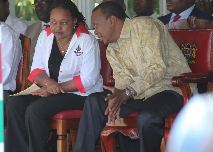 karua and waiguru for Uhuru
