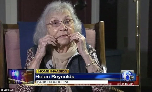 Woman, 88, outwits home intruder by LYING about her HIV status (photos, video)