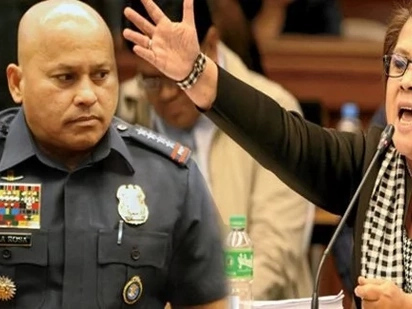 'Don't argue with me' - Furious De Lima tells sullen Bato at Senate hearing