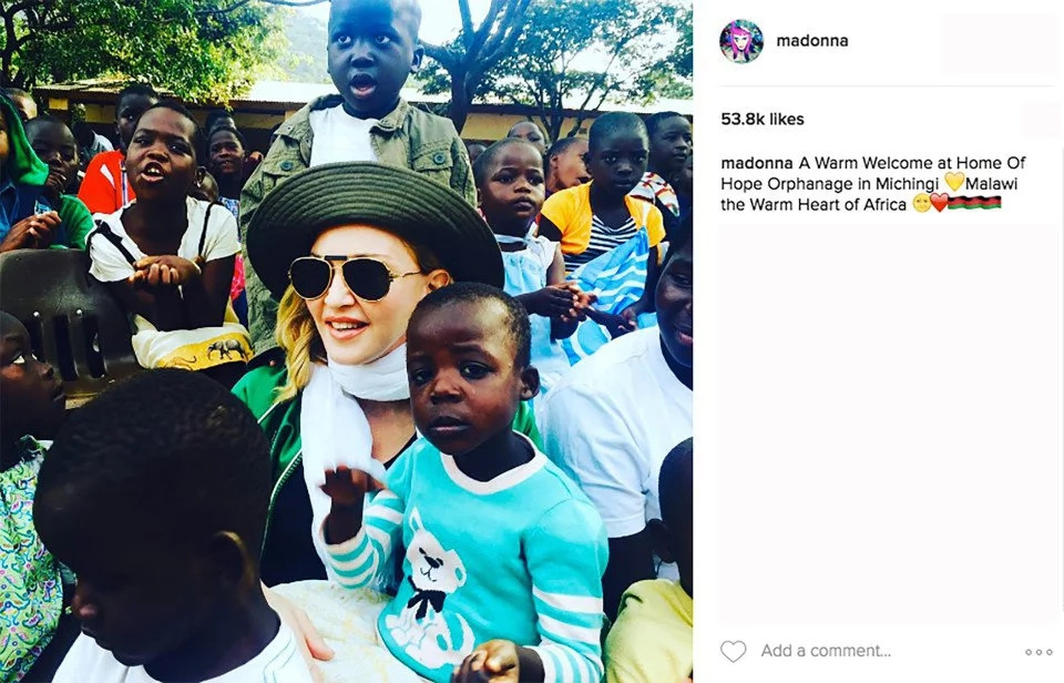 Madonna angers Malawians with Kenyan flag blooper