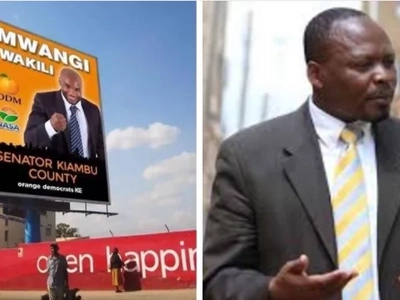 Nyeri man stuns voters by vying for MP on a ticket from Raila Odinga's party (video)