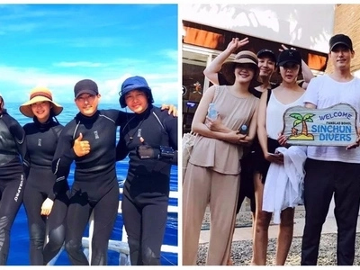 Wala tayong kaalam-alam! 'Goblin' star Kim Go Eun was in the Philippines and she even went scuba diving in Bohol