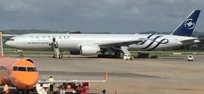 This Is What Was Found In The Air France Plane That Made An Emergency Landing In Mombasa
