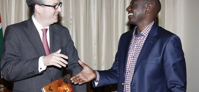 Ruto holds meeting on how Britain and Kenya will work together to fight al-Shabaab