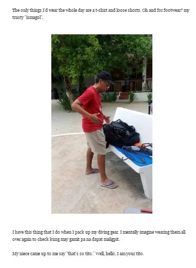 Mar Roxas shows his 'bagets', #Tito moments in posts