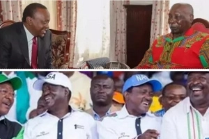 Retired President Moi makes final decision on who he will support between Jubilee Party and NASA after Uhuru visited him