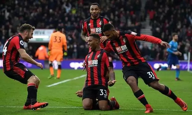 Arsenal suffer shock defeat in the hands of lowly-ranked Bournemouth as Champions League hopes fizzle out