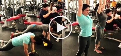 Jinkee Pacquiao and twin sister Janet's epic workout video wows netizens