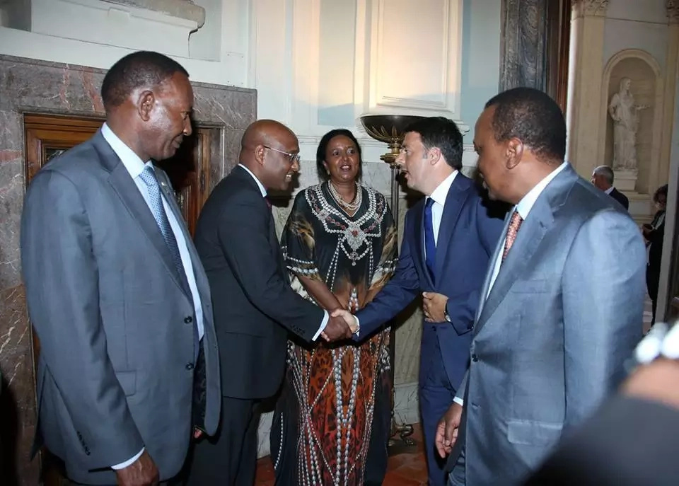 15 emotive photos that prove how much Uhuru trusted Nkaiserry