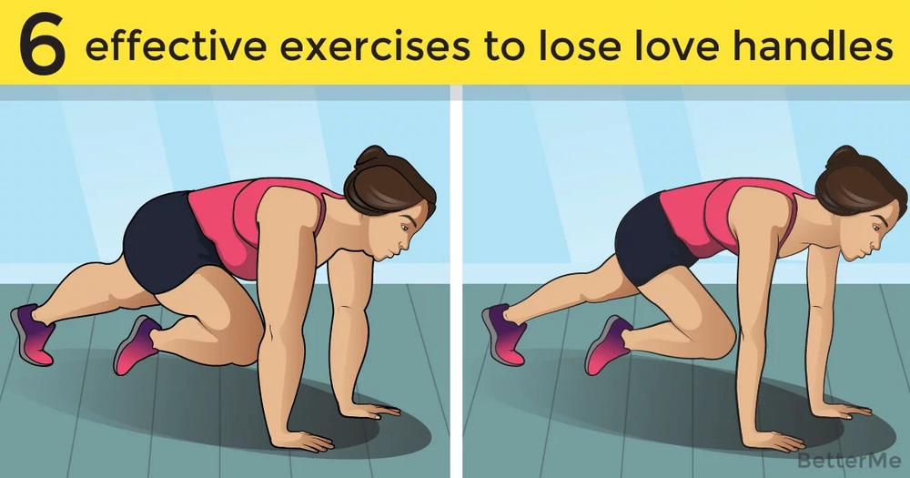 6 effective exercises to lose love handles for women over 35