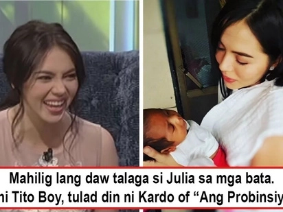 Hinay-hinay lang po, wala pa ngang kasal! Julia Montes responds to rumors she's eager to have a baby with Coco Martin soon because of her IG posts