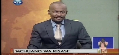 Moha Jicho Pevu pays a touching tribute to former KTN anchor the late Ahmed Dharwesh