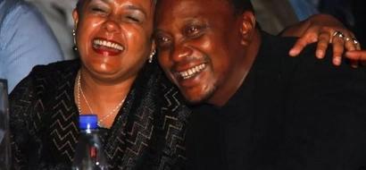 President Uhuru Kenyatta and Margaret Wanjiru are still in love
