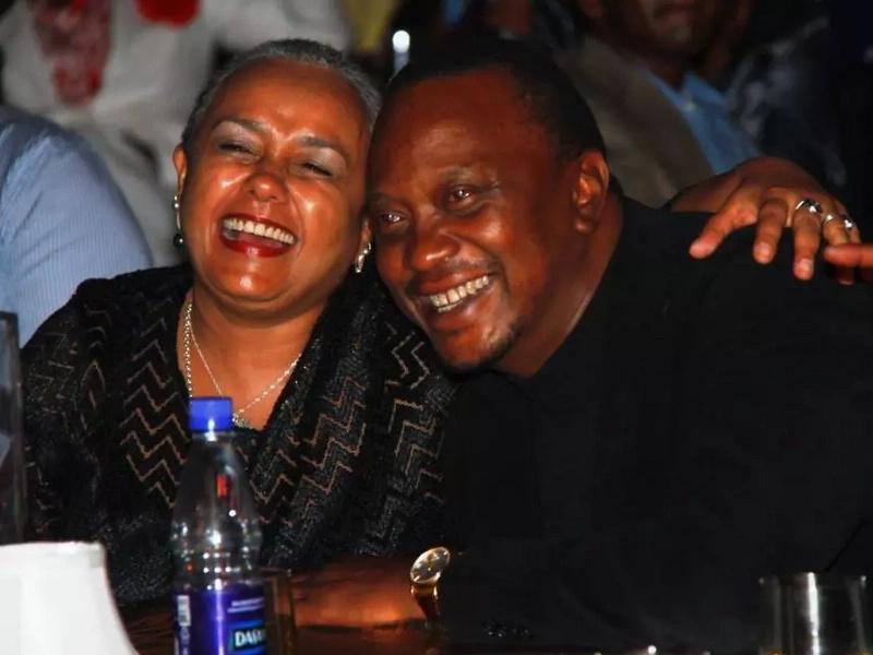 Tazama mapenzi ya Rais Uhuru Kenyatta na mkewe Margaret
