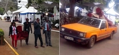 Photos from Bomas that reveal IEBC is set to announce presidential winner any time