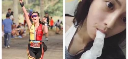 Kim Chiu suffers asthma attack after a successful duathlon race