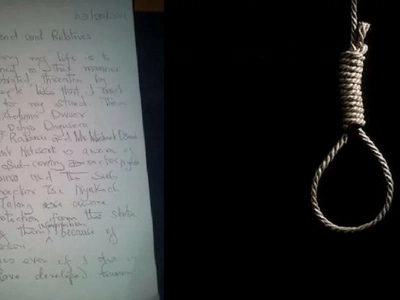 Chilling suicide note by Kisumu headteacher reveals those behind his death including an MP