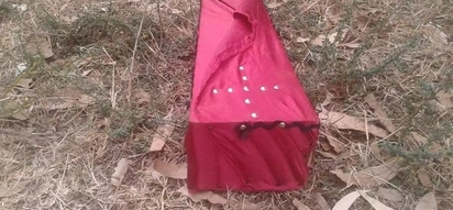 Fear and shock grip Lugari family after empty coffin wrapped in red sheet is dumped in their home