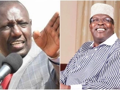 I don't like negative people on my wall,DP Ruto reveals why he blocked Dr Miguna Miguna on Twitter