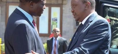 Raphael Tuju ndiye dereva wa chama cha Jubilee