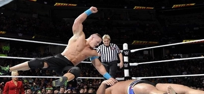 These 10 moves from John Cena will show you why HE'S SO HARD to beat in the ring
