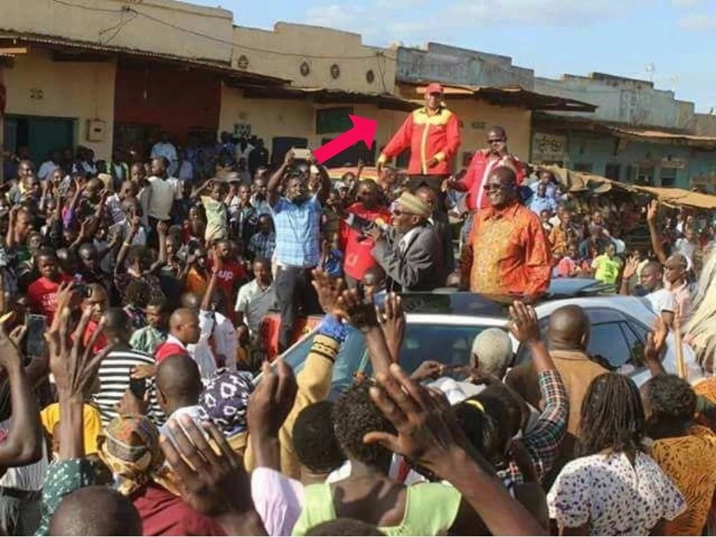 Genius? Senior Jubilee senator fools voters with life-size dummy of Uhuru during campaigns