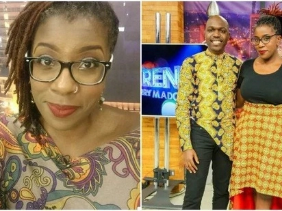 This is the man who warms The Trend host Ciru Muriuki's bed every night (Photos)