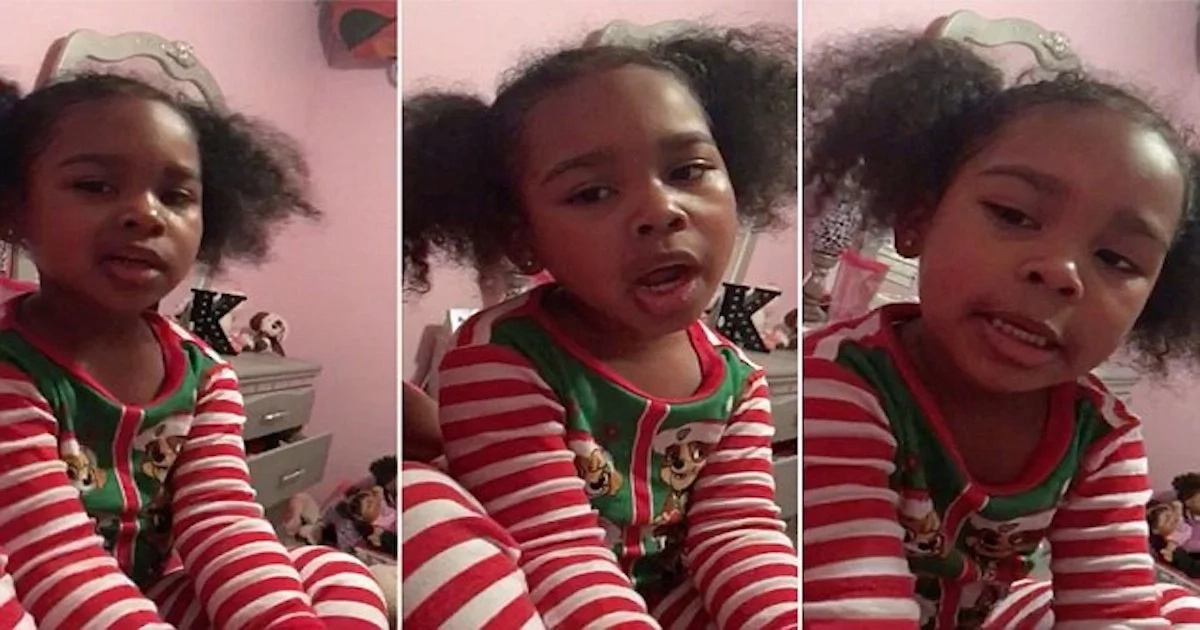 This 4-year-old girl sings her mother a heartwarming song she composed herself (photos, video)